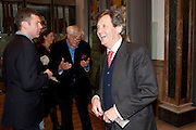 MELVYN BRAGG, Opening of David Hockney ' A Bigger Picture' Royal Academy. Piccadilly. London. 17 January 2012