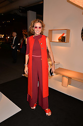 Rebecca Korner at the 2017 PAD Collector's Preview, Berkeley Square, London, England. 02 October 2017.