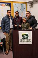 Award Presentation @ Seattle Parks & Recreation Board Meeting