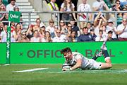 Twickenham, United Kingdom,  2nd June 2019, Quilter Cup -  England XV v Barbarian XV,  played at the RFU Stadium, Twickenham, England, <br /> © Peter SPURRIER: Intersport Images<br /> <br /> 16:37:48  02/06/2019