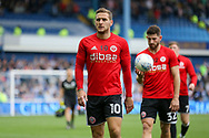 Sheffield United striker Billy Sharp (10) in warm up during the EFL Sky Bet Championship match between Sheffield Wednesday and Sheffield Utd at Hillsborough, Sheffield, England on 24 September 2017. Photo by Phil Duncan.