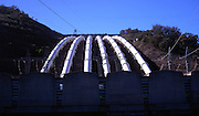 Pipelines of hydro electricity scheme, Snowy Mountains, New South Wales, Australia
