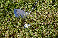 AMSTERDAM   - ingebedde bal  , Golf, regels,    COPYRIGHT KOEN SUYK