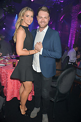 BRIAN McFADDEN and VOGUE WILLIAMS at The London Cabaret Club Gala Launch Party at The Collection, 264 Brompton Road, London on 8th May 2014.