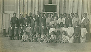 Midway, Wilcox County, Ala., Midway School, Rosa Young on left Jan. 9, 1918