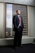 Boston, MA 06/23/2010<br /> F.B.I. Special Agent Geoffrey J. Kelly, the lead investigator in the Gardner Art Heist case, photographed in the Bureau's offices in downtown Boston.