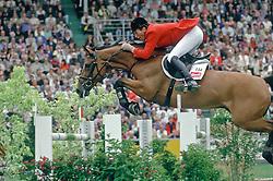 Beerbaum Ludger - Ratina Z<br /> CHIO Aachen 1996<br /> Photo © Dirk caremans