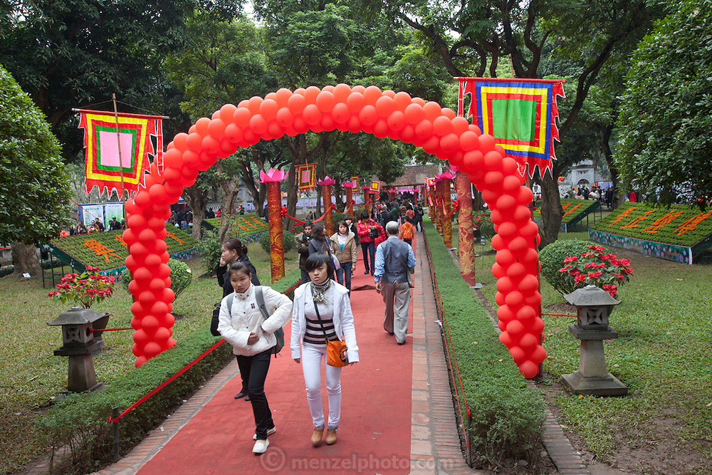 National Poetry Day at the Temple of Literature in Hanoi, Vietnam