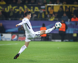 November 21, 2017 - Dortmund, Germany - Tottenham Hotspur's Son Heung-Min in action during the UEFA Champions League group H match between Borussia Dortmund and Tottenham Hotspur at Signal Iduna Park on November 21, 2017 in Dortmund, Germany. (Credit Image: © Ahmad Mora/NurPhoto via ZUMA Press)