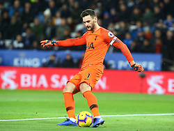 December 8, 2018 - Leicester, England, United Kingdom - Leicester, December 08, 2018.Tottenham Hotspur's Hugo Lloris.during the English Premier League match between Leicester City and Tottenham Hotspur at the King Power Stadium in Leicester, Britain, 8 December 2018  (Credit Image: © Action Foto Sport/NurPhoto via ZUMA Press)