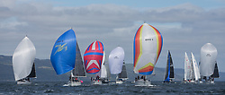 Clyde Cruising Club's Scottish Series 2019<br /> 24th-27th May, Tarbert, Loch Fyne, Scotland<br /> <br /> Day 1, Class 3/6 Fleet with <br /> 3841C, Ubiquity, Fairlie Yacht Club, Moody 336, 4040C, Lemarac,  Clyde Cruising Club, Moody 38<br /> <br /> Credit: Marc Turner / CCC
