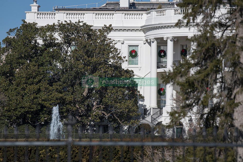 South side of the White House in Washington, DC showing the the historic Jackson Magnolia tree, located to the left of the South Portico, that is scheduled to be removed soon on Tuesday, December 26, 2017. Credit: Ron Sachs / CNP (RESTRICTION: NO New York or New Jersey Newspapers or newspapers within a 75 mile radius of New York City). 26 Dec 2017 Pictured: South side of the White House in Washington, DC showing the the historic Jackson Magnolia tree, located to the left of the South Portico, that is scheduled to be removed soon on Tuesday, December 26, 2017. Credit: Ron Sachs / CNP (RESTRICTION: NO New York or New Jersey Newspapers or newspapers within a 75 mile radius of New York City). Photo credit: Ron Sachs - CNP / MEGA TheMegaAgency.com +1 888 505 6342