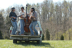 4/5/04 Scott Avett, 27, Seth Avett, 23 and Bob Crawford, 33, are 'The Avett Brothers'. Their music has been called everything from alternative bluegrass to depression dance music. L.MUELLER/The Charlotte Observer