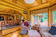 Mountain home reading room