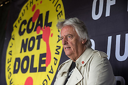 Michael Mansfield QC, speaking at the Mass Picnic organised by the Orgreave Truth and Justice Campaign