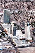 Aerial view of The Palms Casino Resort Las Vegas