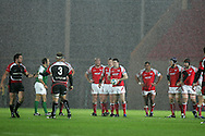 Heineken cup,round four, Scarlets v Ulster at Parc y Scarlets in Llanelli on Friday 12th December 2008.