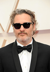 Joaquin Phoenix at the 92nd Academy Awards held at the Dolby Theatre in Hollywood, USA on February 9, 2020.