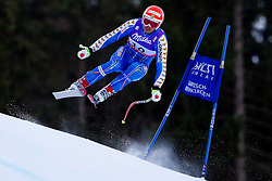 10.02.2011, Kandahar, Garmisch Partenkirchen, GER, FIS Alpin Ski WM 2011, GAP, Herren Abfahrtstraining, im Bild Patrik Jaerbyn (SWE) takes to the air competing in the first men's downhill training run on the Kandahar race piste at the 2011 Alpine skiing World Championships, EXPA Pictures © 2011, PhotoCredit: EXPA/ M. Gunn
