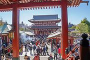 Japan, Tokyo, Asakusa, Senso-ji temple gate