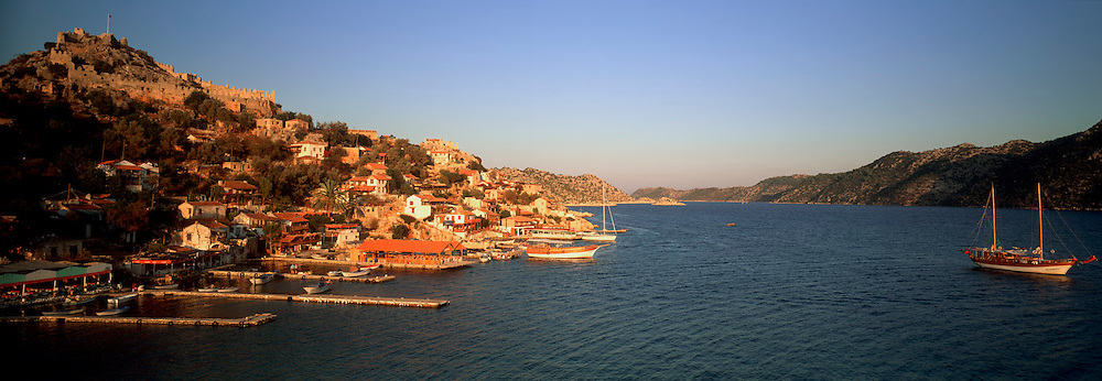 TURKEY, SOUTH COAST Kale (Simena); fishing village