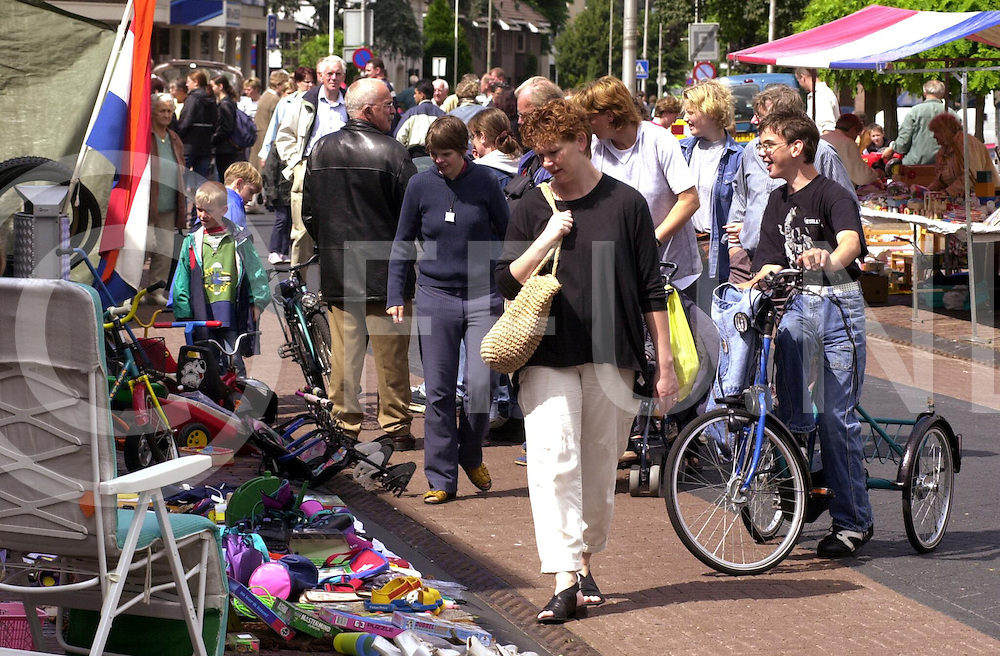 fotografie frank uijlenbroek©2001 michiel van de velde.010718 raalte ned.snuffelmarkt op en rond de varkensmarkt