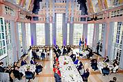 Zijne Majesteit Koning Willem-Alexander en Hare Majesteit Koningin Máxima brengen een werkbezoek aan de Duitse deelstaten Rijnland-Palts en Saarland.<br /> <br /> His Majesty King Willem-Alexander and Her Majesty Queen Máxima paid a working visit to the German federal states of Rhineland-Palatinate and Saarland.<br /> <br /> op de foto / On the Photo: Toespraak van de Koning in het Saarbrücker Stadtschloss / Speech by the King at the Saarbrücker Stadtschloss