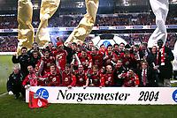 Fotball, 07. november 2004, NM-finale herrer, cupfinale ,  Brann - Lyn 4-1, Brann ble cupmester , norgesmester