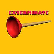 Famous humourous quotes series: Exterminate (the whole dalek race)