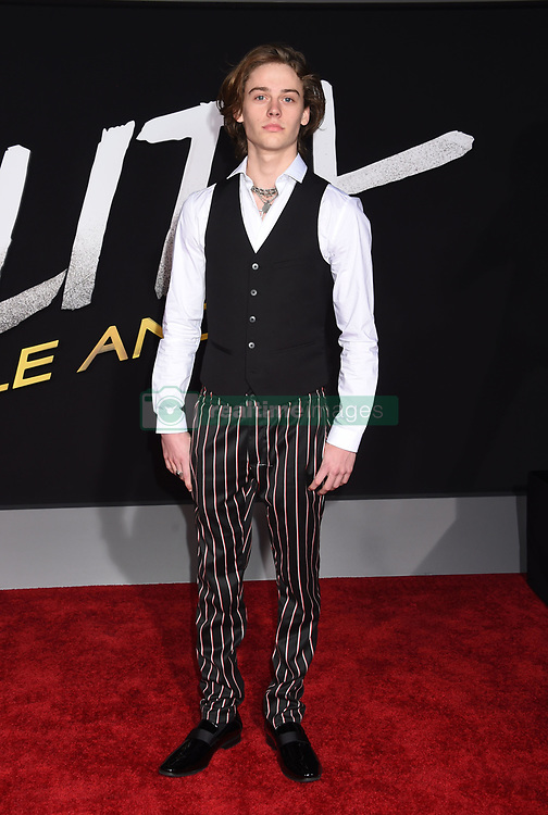 """Celebrities on the red carpet at the premiere of """"Alita: Battle Angel"""" held at the Regency Village Theatre on February 5, 2019 in Westwood, California. 05 Feb 2019 Pictured: Britain Dalton. Photo credit: MEGA TheMegaAgency.com +1 888 505 6342"""