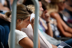 Spectators hiding for the sun<br /> CHIO Aachen 2017<br /> © Hippo Foto - Dirk Caremans<br /> 20/07/2017