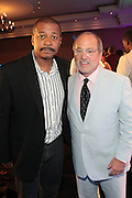 Miami Beach, Florida, NY-June 23: (L-R) Actor/Director Robert Townsend and Brad Siegel, VP, Gmc attend the 2012 American Black Film Festival Winners Circle Awards Presentation held at the Ritz Carlton Hotel on June 23, 2012 in Miami Beach, Florida (Photo by Terrence Jennings)