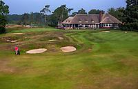 HILVERSUM - green hole 18 met nieuwe clubhuis, Hilversumsche Golf Club, COPYRIGHT  KOEN SUYK