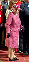 Queen Elizabeth II during the Royal Windsor Horse Show at Windsor Castle, Berkshire.