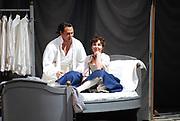 03/17/2009 -- GASTON DE CARDENAS/EL NUEVO HERALD --  Le Nozze Di Figaro -- Florida Grand Opera Production of Le Nozze di Figaro featuring Keith Miller as Figaro, left, and Valentina Farcas, as Susanna, right.