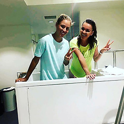 """Angelique Kerber releases a photo on Instagram with the following caption: """"To my dear friend \u2764@aradwanska , not only will I miss sharing ice baths with you but also having you around on tour as a friend. It\u2019s been a huge challenge and honor to share the court with you. We grew up together in this tennis world and if I learned one thing about you - Aga always has a plan \ud83d\ude09\u270c! MY BIG CONGRATS on an AMAZING career and all the best for this exciting new chapter \ud83c\udf40\ud83d\ude18\u2764\ufe0f"""". Photo Credit: Instagram *** No USA Distribution *** For Editorial Use Only *** Not to be Published in Books or Photo Books ***  Please note: Fees charged by the agency are for the agency's services only, and do not, nor are they intended to, convey to the user any ownership of Copyright or License in the material. The agency does not claim any ownership including but not limited to Copyright or License in the attached material. By publishing this material you expressly agree to indemnify and to hold the agency and its directors, shareholders and employees harmless from any loss, claims, damages, demands, expenses (including legal fees), or any causes of action or allegation against the agency arising out of or connected in any way with publication of the material."""