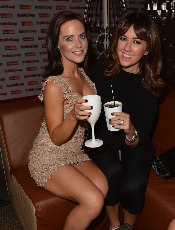 Inside soap awards . Stephanie Wareing and Sheree Murphy .pic Dave Nelson