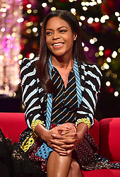 Naomie Harris appearing on the Graham Norton Show filmed at the London Studios. London, which will be transmitted on BBC One on December 23.