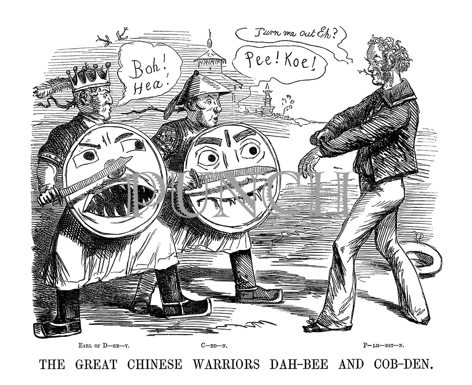 The Great Chinese Warriors Dah-Bee and Cob-Den.