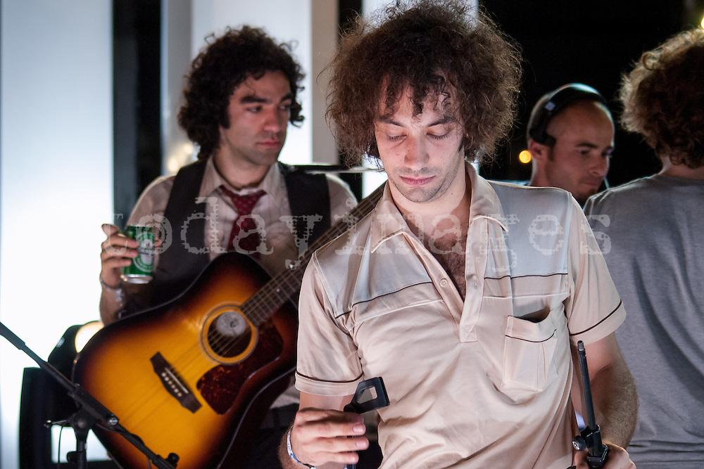 Albert Hammond Junior  at the Benicasim festival in 2007