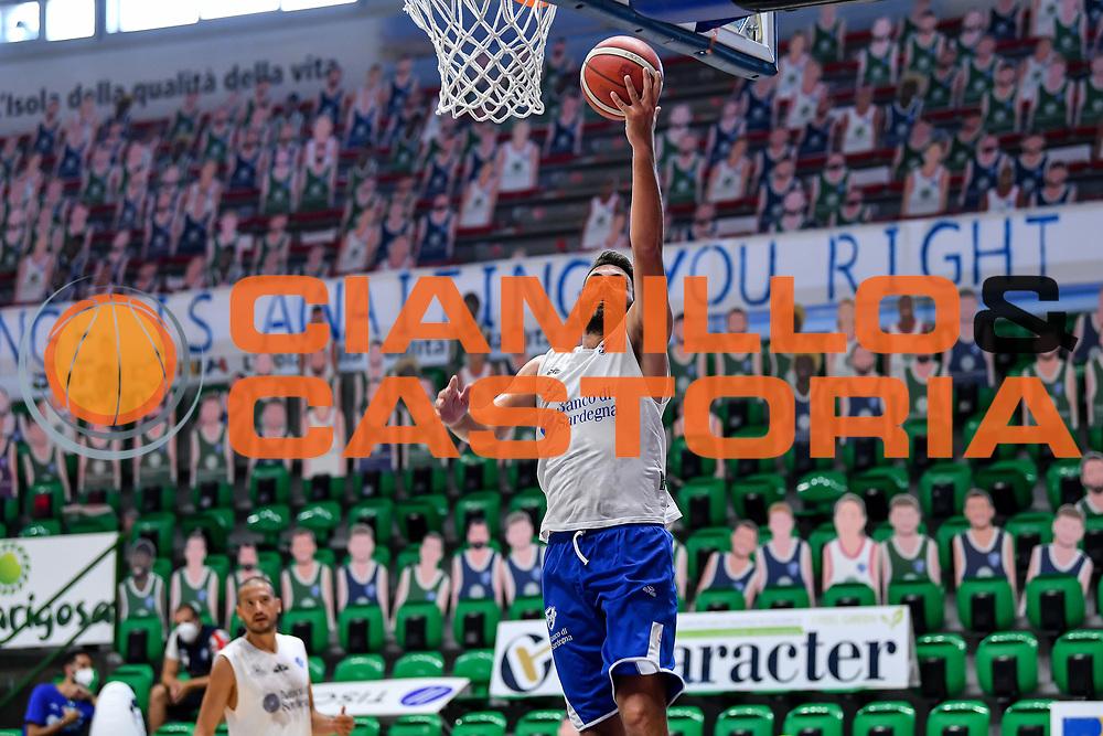 Luca Gandini<br /> Allenamento Banco di Sardegna Dinamo Sassari<br /> LBA Legabasket Serie A 2021-2022<br /> Sassari, 12/08/2021<br /> Foto L.Canu / Ciamillo-Castoria
