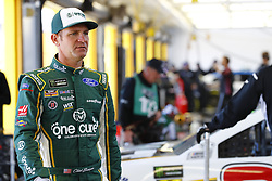 March 2, 2018 - Las Vegas, Nevada, United States of America - March 02, 2018 - Las Vegas, Nevada, USA: Clint Bowyer (14) hangs out in the garage during practice for the Pennzoil 400 at Las Vegas Motor Speedway in Las Vegas, Nevada. (Credit Image: © Chris Owens Asp Inc/ASP via ZUMA Wire)