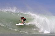 OCTOBER 6, 2010: Dane Pioli surfs at Snapper Rocks on the Gold Coast on 6 October, 2010. Photo by Matt Roberts