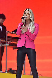Louisa Johnson during Capital's Summertime Ball with Vodafone at Wembley Stadium, London. This summer's hottest artists performed live for 80,000 Capital listeners at Wembley Stadium at the UK's biggest summer party. Performers included Camila Cabello, Shawn Mendes, Rita Ora, Charlie Puth, Jess Glyne, Craig David, Anne-Marie, Rudimental, Sean Paul, Clean Bandit, James Arthur, Sigala, Years & Years, Jax Jones, Raye, Jonas Blue, Mabel, Stefflon Don, Yungen and G-Eazy