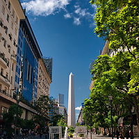 The capital of Argentina is a very fascinating and affordable destination and without a doubt, one of the most charming metropoles in the world. The photo shows the 67 meters high obelisk of Buenos Aires.