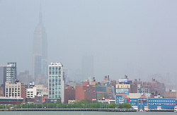 New York City Skyline from the New Jersey side