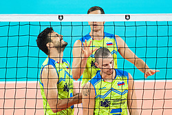 Mitja Gaspari of Slovenia frustrated during friendly volleyball match between Slovenia and Serbia in Arena Stozice on 2nd of September, 2019, Ljubljana, Slovenia. Photo by Grega Valancic / Sportida