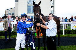 Alandalos ridden by Jim Crowley trained by Charles Hills wins the Fillies' Novice Stakes - Mandatory by-line: Robbie Stephenson/JMP - 27/08/2019 - PR - Bath Racecourse - Bath, England - Race Meeting at Bath Racecourse