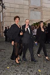 May 29, 2019 - Rome, italy - Rome, Piazza Del Campidoglio Event Gucci Parade at the Capitoline Museums, In the picture: Dario Argento and companion (Credit Image: © Vincenzo Landi/IPA via ZUMA Press)