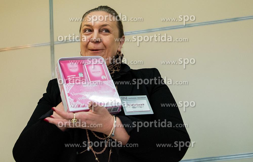 Brigita Bavdek, Poslovna skupina BNI Mostovi, srecanje dne 12. decembra 2018. Foto: Vid Ponikvar / Sportida